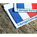 Étiquette fabriquée en France
