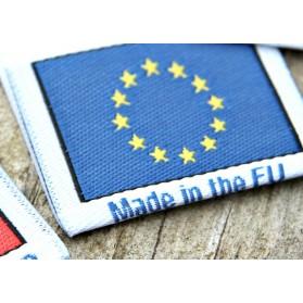 Étiquette Fabriqué en Europe