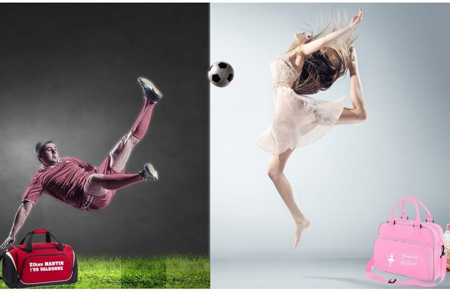 Comment personnaliser votre sac de sport ou de danse?